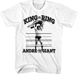Image for Andre the Giant T-Shirt - King of the RIng