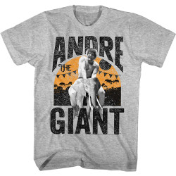 Image for Andre the Giant Heather T-Shirt - Elephant Ride