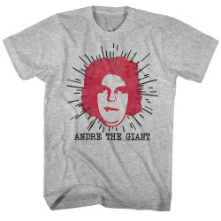 Image for Andre the Giant Heather T-Shirt - Le Geant