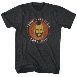 Image for Mr. T Heather T-Shirt - The Tao of T