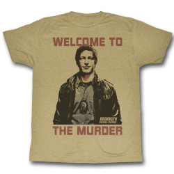 Image for Brooklyn Nine Nine Heather T-Shirt - Welcome