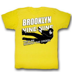 Image for Brooklyn Nine Nine T-Shirt - Dive Dive Diiive