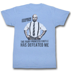 Image for Brooklyn Nine Nine Heather T-Shirt - Defeat