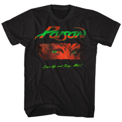 Image for Poison Open Up and Say Ahh T-Shirt