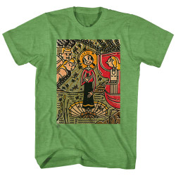 Image for Popeye Heather T-Shirt - Mosaic Olive