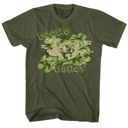 Image for Beetle Bailey T-Shirt - Camo Case