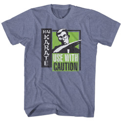 Image for Hai Karate Heather T Shirt - Green Chop