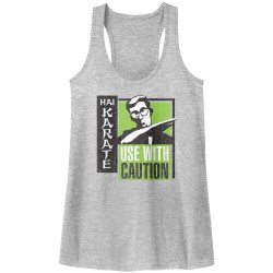 Image for Hai Karate Juniors Heather Tank Top - Green Chop