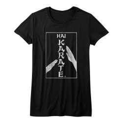 Image for Hai Karate Girls T-Shirt - Karate Chop