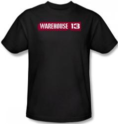 Image Closeup for Warehouse 13 Logo T-Shirt