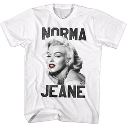 Image for Norma Jean as Marilyn T-Shirt - Norma Jean