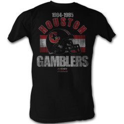 Image for U.S. Football League T-Shirt - Houston Gambers