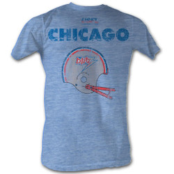 Image for U.S. Football League Heather T-Shirt - Chicago Blitz