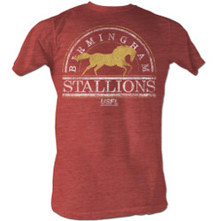 Image for U.S. Football League Heather T-Shirt - Birmingham Stallions