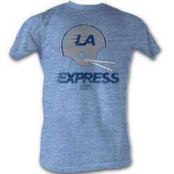 Image for U.S. Football League Heather T-Shirt - L.A. Express