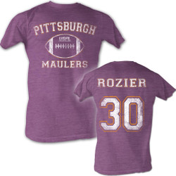 Image for U.S. Football League Heather T-Shirt - Pittsburgh Maulers Rozier 30