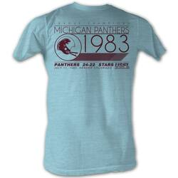 Image for U.S. Football League Heather T-Shirt - Michigan Panthers League Champs