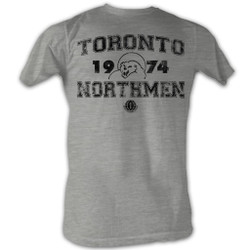 Image for World Football League Heather T-Shirt - Toronto Northmen