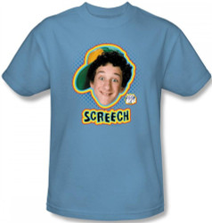 Image for Saved by the Bell Screech T-Shirt