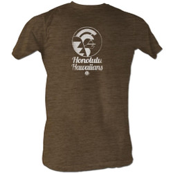 Image for World Football League Heather T-Shirt - Hawaiians
