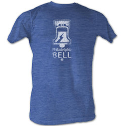 Image for World Football League Heather T-Shirt - Bell