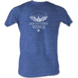 Image for World Football League Heather T-Shirt - Wings