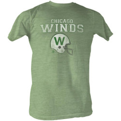 Image for World Football League Heather T-Shirt - Winds
