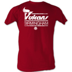 Image for World Football League T-Shirt - Birmingham Vulcans Logo