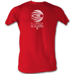 Image for World Football League T-Shirt - Florida Blazers Logo