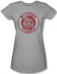Image for Saved by the Bell Bayside Tigers Girls Shirt
