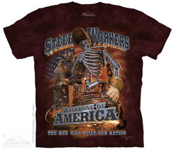 Image for The Mountain T-Shirt - Steel Workers