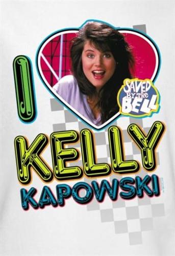 e506ea92 Saved by the Bell I Love Kelly Kapowski T-Shirt - NerdKungFu