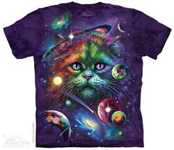 Image for The Mountain T-Shirt - Cosmic Cat