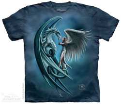 Image for The Mountain T-Shirt - Angel & Dragon