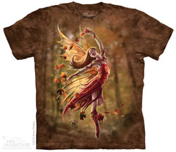 Image for The Mountain T-Shirt - Autumn Fairy