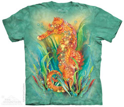 Image for The Mountain T-Shirt - Seahorse