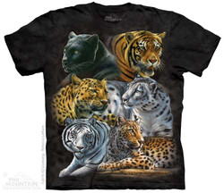 Image for The Mountain T-Shirt - Big Cats