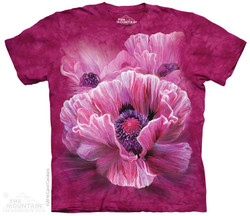 Image for The Mountain T-Shirt - Poppies