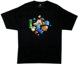 Image for Minecraft T-Shirt - Run Away