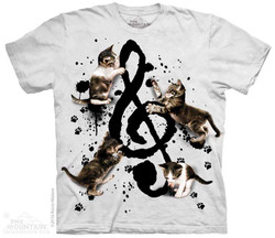 Image for The Mountain T-Shirt - Music Kittens