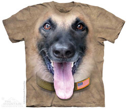 Image for The Mountain T-Shirt - Belgian Malinois