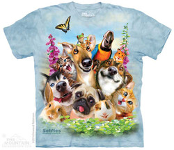 Image for The Mountain T-Shirt - Pet Selfie