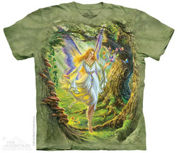 Image for The Mountain T-Shirt - Fairy Queen