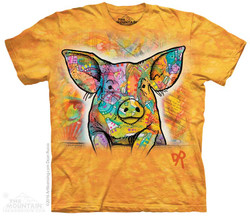 Image for The Mountain T-Shirt - Russo Pig