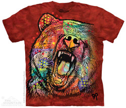 Image for The Mountain T-Shirt - Russo Grizzly