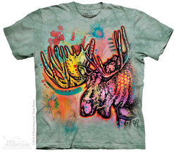 Image for The Mountain T-Shirt - Russo Moose