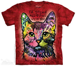 Image for The Mountain T-Shirt - 9 Lives