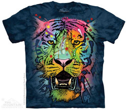 Image for The Mountain T-Shirt - Russo Tiger Face