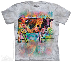 Image for The Mountain T-Shirt - Russo Cow