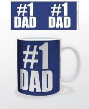 Image for #1 Dad Coffee Mug